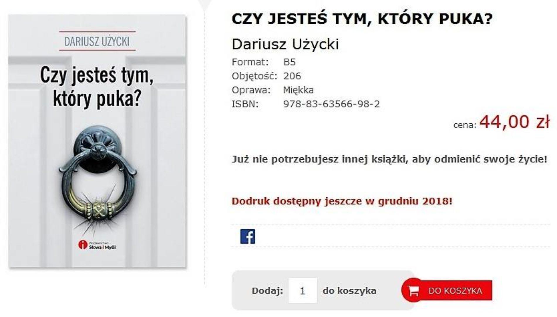 E-BOOK + DODRUK KSIĄŻKI!