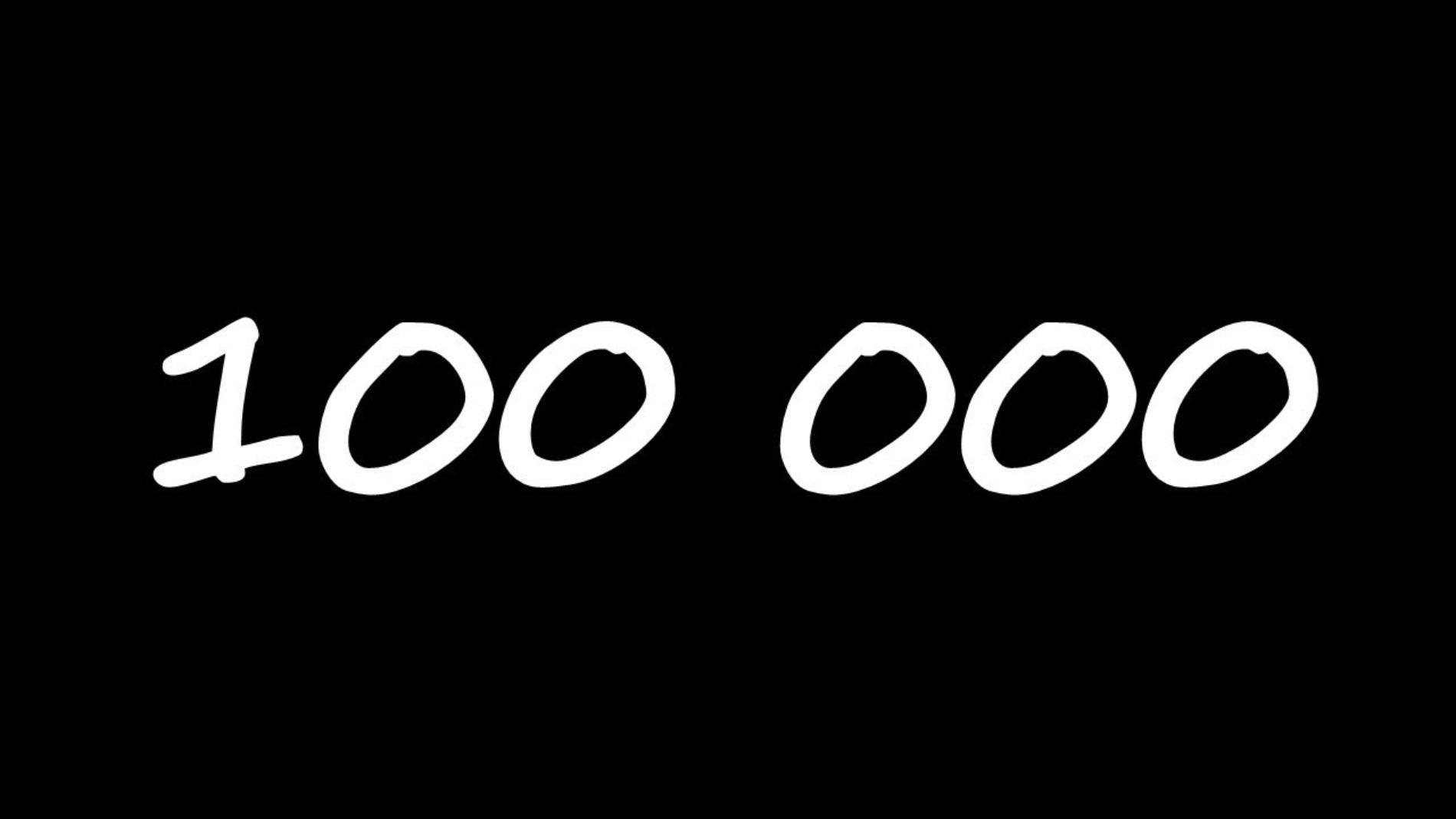 100 000 odsłon w rok i dziesięć miesięcy!